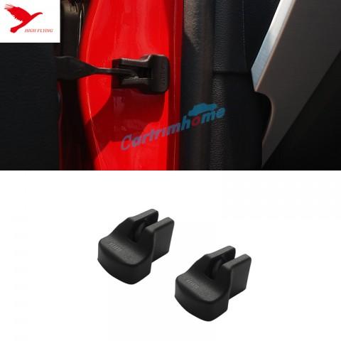Car Door Stop Rust waterproof protector cover 2pcs For Ford Mustang 2015 - 2017