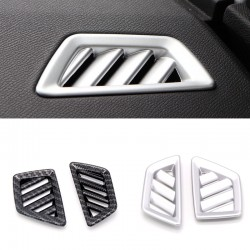 2* Inner Front Upper Air Condition Vent Cover Trim For Peugeot 3008 GT 2016 2017 2018
