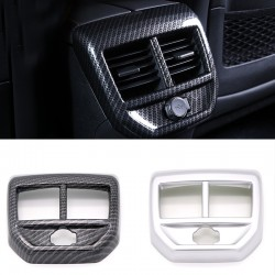Matt Inner Rear Air Condition Vent Cover Trim 1pcs For Peugeot 3008 GT 2016 2017 2018
