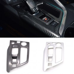 ABS Matt Interior Gear Shift Box Panel Cover Trim For Peugeot 3008 GT 2016 2017 2018