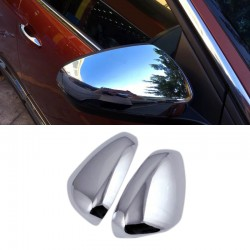 ABS Chrome Rearview Side Door Mirror Cover Trim 2pcs For Peugeot 5008 2017 2018
