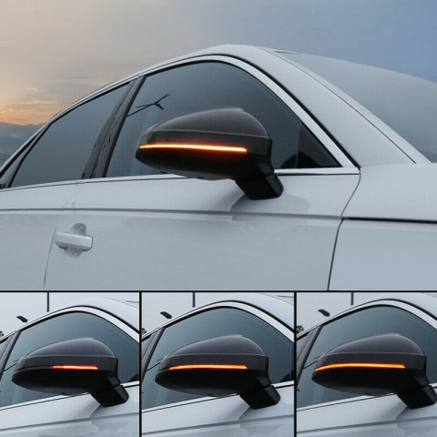 LED Side Mirror Sequential Dynamic Turn Signal Light For Audi A4 2017-2019 / S4 2017-2019 / A5 2017-2019 / S5 2017-2019