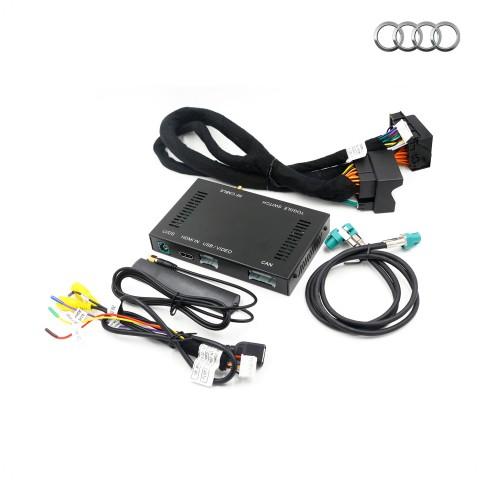 Free Shipping Wireless Apple CarPlay & Android auto interface box MMI decoder For Audi Q2 Q3 Q5 Q7 A3 A4 A5 A6 C7 A7 A8 S5 S7