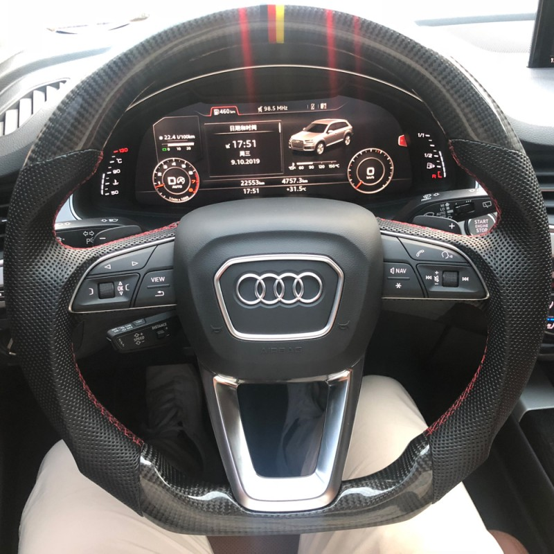 Free Shipping Customize Carbon Fiber Steering Wheel