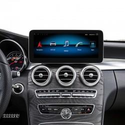 Free Shipping Android 10 4+64G Car Multimedia Stereo Radio Audio GPS Navigation Sat Nav Head Unit for Mercedes Benz C / V Class GLC 2015-2018