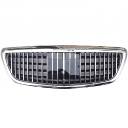 Front Bumper Grille ABS Mesh Racing Grille For Mercedes Benz W222 S CLASS S500 S600 S500 S550 2014-2019