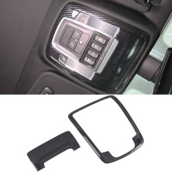 Free Shipping Carbon Style Interior Front Reading Light Cover Trim For Dodge Ram 1500 2019-2021