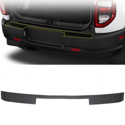 Free Shipping Outer Rear Bumper Protector Foot Plate Cover For Ford Bronco Sport CX430 2021-2022