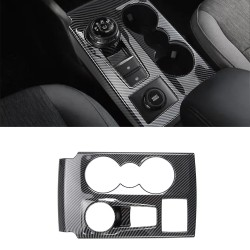 Free Shipping LHD Interior Center Console Gear Shift Cover Trim For Ford Bronco Sport CX430 2021-2022