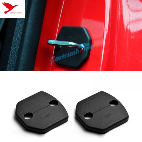 Door Lock Protector Cover buckle decoration 2pcs For Ford Mustang 2015 2016 2017