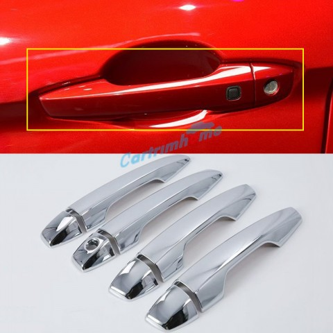 LHD ABS Front Side Door Handle Cover Trim 4pcs For Eclipse Cross 2017-2018