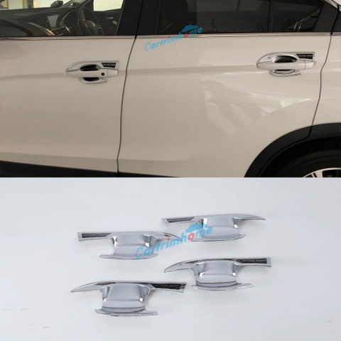 ABS Side Door Handle Bowl Cover Trim 4pcs For Eclipse Cross 2017-2018