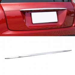 ABS Chrome Rear Tailgate Door Trunk Lid Cover Trim 1pcs For Eclipse Cross 2017-2018