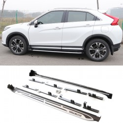 High Quality Aluminium Side Step Running Board Nerf Bar Pedal Fit For Mitsubishi Eclipse Cross 2017-2018
