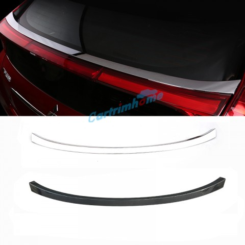 ABS Rear Trunk Spoiler Wing Decorative Cover Trim 1Pcs For Eclipse Cross 2017-2018