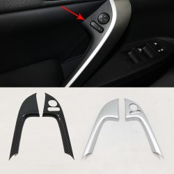 Front Door Armrest Cover Trim Accessories 2Pcs For Mitsubishi Eclipse Cross 2017-2018