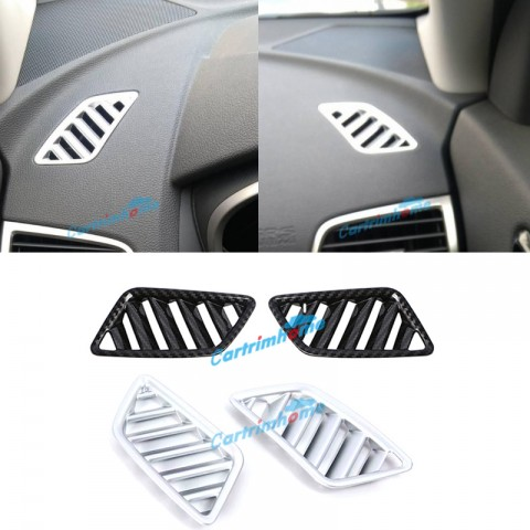 Inner Front Upper Air Condition Vent Cover Trim 2Pcs For Eclipse Cross 2017-2019