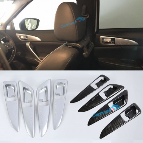 ABS Inner Side Door Handle Bowl Cover Trim 4pcs For Eclipse Cross 2017-2018