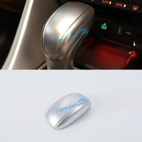 ABS Matte Gear Shift Knob Cover Car Interior Decoration 1pcs For Eclipse Cross 2017-2018