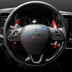 Free Shipping DSG Paddle Shifters Extensions Cover Trim 2pcs For Eclipse Cross 2017-2018