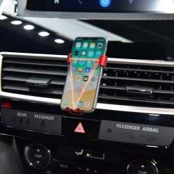 Free Shipping Smartphone Cell Phone Mount Holder with Adjustable Air Vent Clip Cover For Mitsubishi Eclipse Cross 2017-2019
