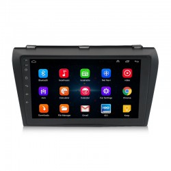 Free Shipping Android 10 T10 4+64G / 6+128G Car Multimedia Stereo Radio Audio GPS Navigation Sat Nav Head Unit For Mazda M3 2004-2013