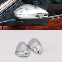 Chrome Rearview Side Door Mirror Cover Trim 1pcs For Peugeot 3008 Access / Active / Allure / GT 2016 2017 2018