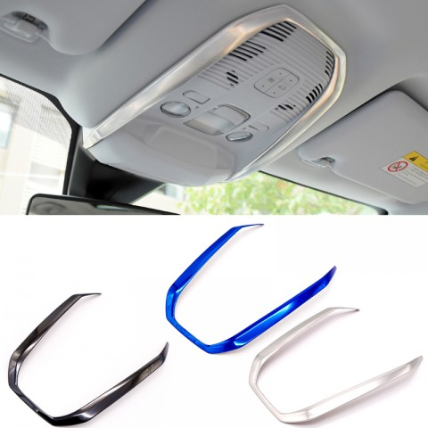 Free Shipping Front Roof Dome Reading Light Lamp Cover Trim 1pcs For Peugeot 3008 Access / Active / Allure / GT 2016 2017 2018