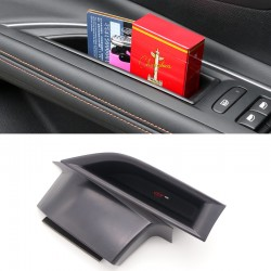 Free Shipping Interior Front Side Door Storage Box Holder 2pcs For Peugeot 3008 Access / Active / Allure / GT 2016 2017 2018