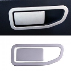 ABS Plastic Interior Storage Handle Frame Cover Trim for Peugeot 5008 2017 2018
