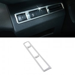 Steel Headlight Switch Button Cover Trim  for Peugeot 5008 2017 2018
