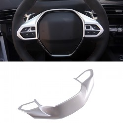Hight-Equipped!!Interior Car Steering Wheel Button Cover  for Peugeot 5008 2017 2018