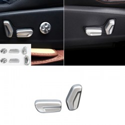 Interior Car Seat Adjustment Button Cover Trim For Peugeot 5008 2017 2018