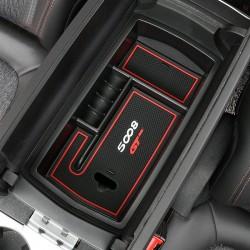 1*Accessories Armrest Console Central slot storage Box for   Peugeot 5008 2017
