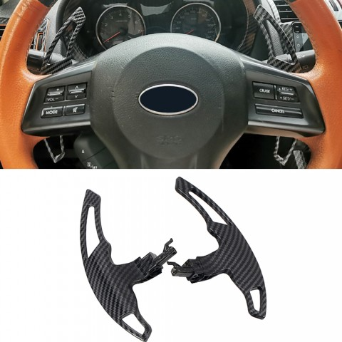 Free Shipping 1Pair DSG Paddle Shifters Extensions Replacement Parts For Subaru WRX STI 2015-2021