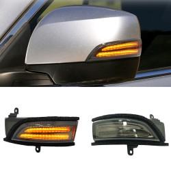 Free Shipping LED Side Mirror Sequential Dynamic Turn Signal Light For Subaru WRX STI 2015-2021