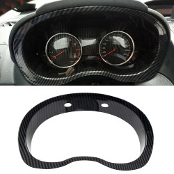 Free Shipping ABS Carbon Style Dashboard Meter Cover Trim 1pcs For Subaru WRX STI 2015-2021