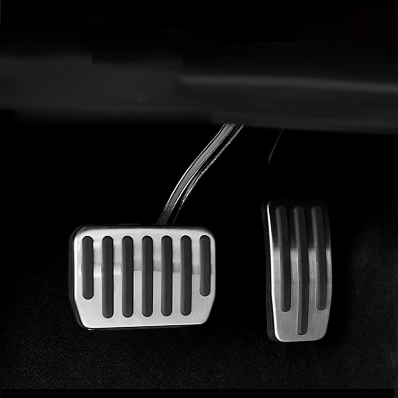 Free Shipping 2pcs Aluminum Fuel Gas Brake Footrest Pedal ...
