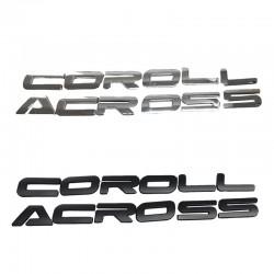Free Shipping Car Hood Emblem Logo Badge Car Stickers For Toyota Corolla CROSS 2020-2021