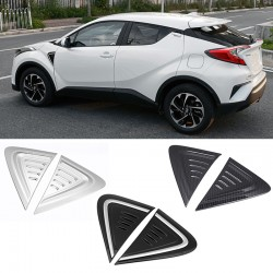 Free shipping Car Side Wing Fender Air Guide Vents Frame Trim For Toyota C-HR CHR 2016-2019