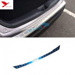 Stainless Outer Rear Sill Bumper Cover Plate 1pcs For Toyota C-HR CHR 2016-2019