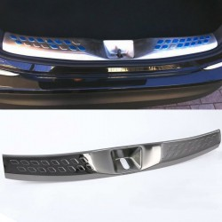 Stainless Inner Rear Sill Bumper Cover Plate 1pcs For Toyota C-HR CHR 2016-2019
