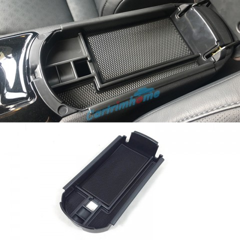 Free Shipping 1pcs Black Interior Armrest Storage Box Holder For Toyota C-HR CHR 2016-2019
