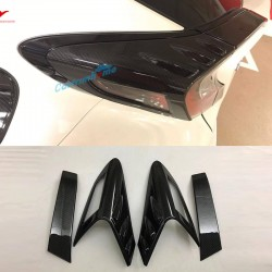 Rear Tail Light Lamp Eyebrow Cover Trim 4pcs For Toyota C-HR CHR 2016-2018