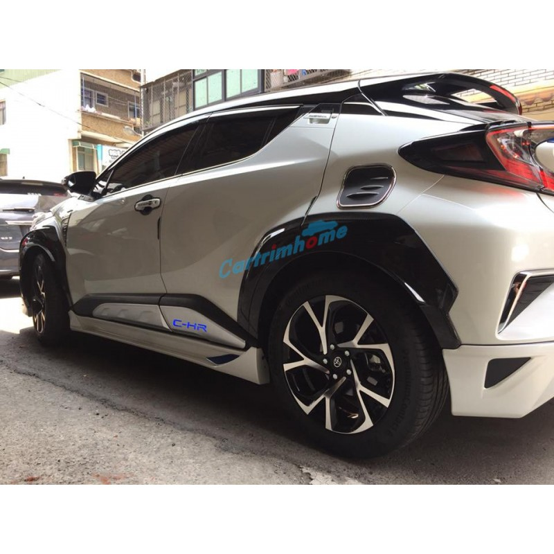 2019 Toyota Chr: ABS Side Door Body Molding Cover Trim 4pcs For Toyota C-HR