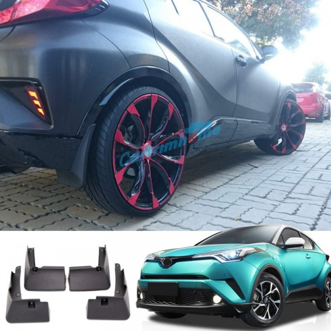 Free Shipping Splash Guards Mud Flaps Mud Guards 4pcs For Toyota C-HR CHR 2016-2019