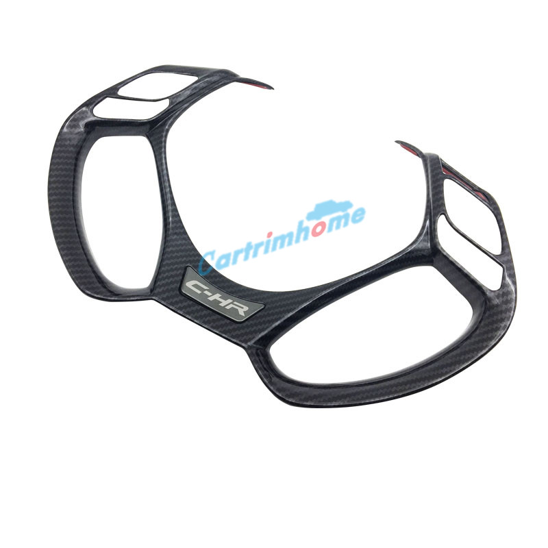 1pcs interior abs steering wheel cover trim for toyota chr