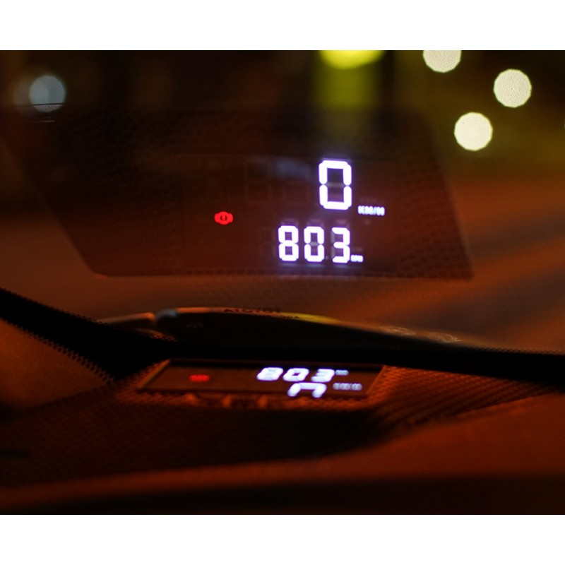 Free Shipping Lhd 1set Head Up Display Hud For Toyota C Hr