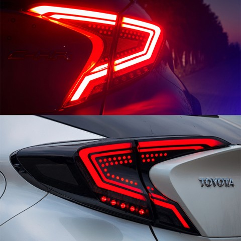 Free Shipping Tail Lights Led Tail Lights Rear Lamp For Toyota C-HR CHR 2016-2019