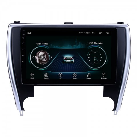 """Free Shipping 9"""" Android 8.1 T 4+64G Car Multimedia Stereo Radio Audio DVD GPS Navigation Sat Nav Head Unit for Toyota Camry 2015-2017"""